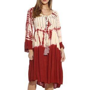 Dresses & Skirts - Regular/Plus Nile Sunset Tie Dye Boho Dress, S-3X